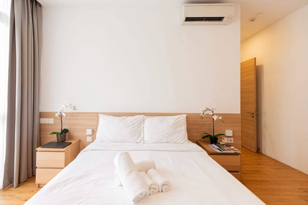 budget service apartment in Singapore