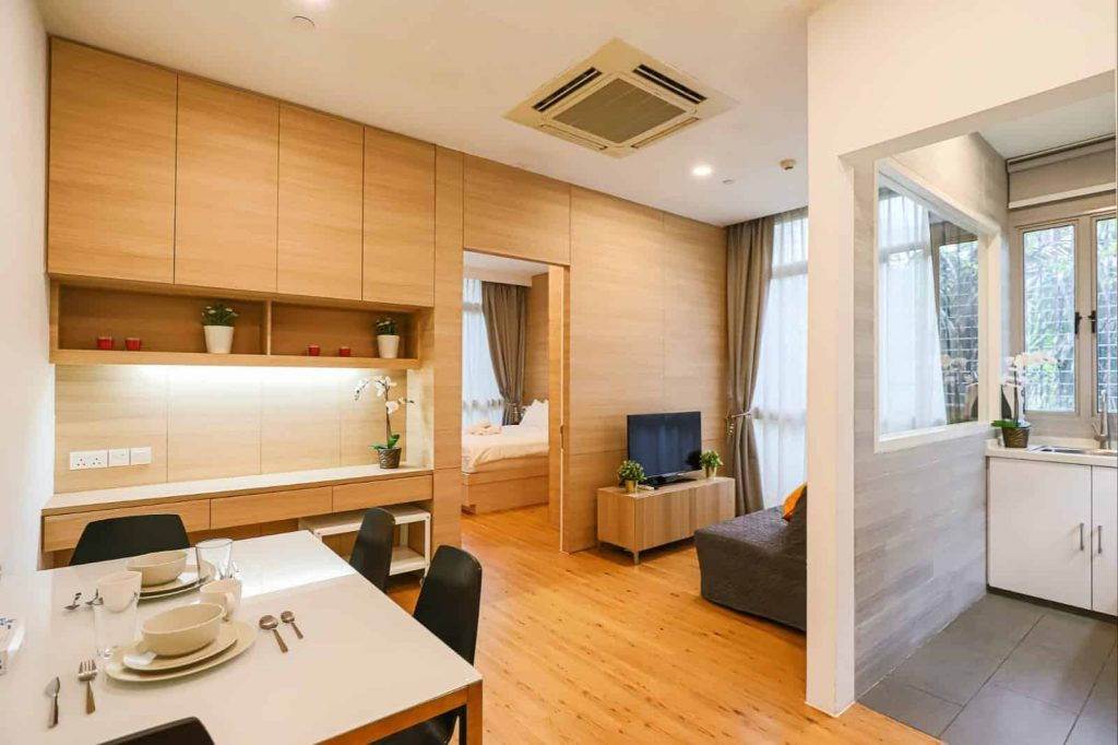 Premium 1 Bedroom Serviced Apartments Thanksgiving Serviced Residence